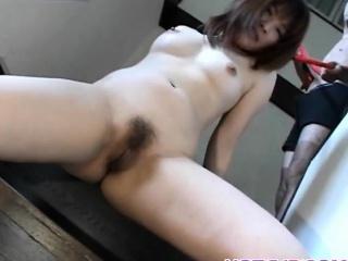Hikaru Hinata loves toys in will not hear of pussy