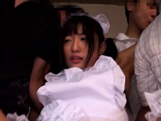 Of good cheer japanese sweetheart gets seduced for a hardcore act