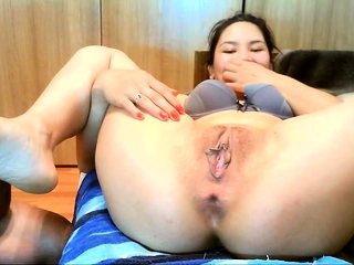 Asian Lapreece Maddox is tired of compacted cocks