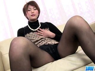 Saori Busy Just about Her Vibrator - More at javhd.net