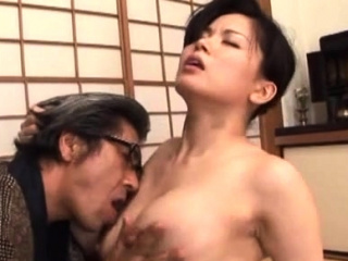 Breathtaking older hardcore action with a japanese infant