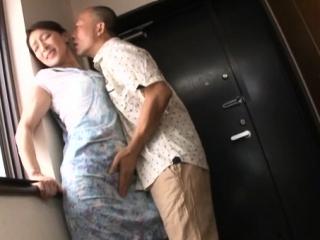 Sultry older japanese floozy enjoys some lewd finish feeling fucking