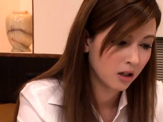 Dearest japanese Rora Misaki blows and gets fingered