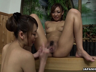 Japanese Akari Asayiri faggot experience bursting