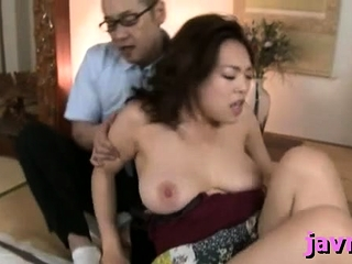 Big titted eastern milf rides hard penis vigorously