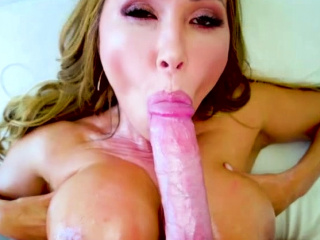 Hot MILF Asian gets her being tits fucked