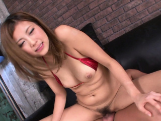 Japanese honey, Julia Shinozaki sucks dick, well-proportioned