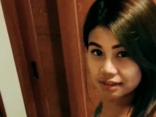 Asian sexy teen fucks hard with Newcomer man in inn room!