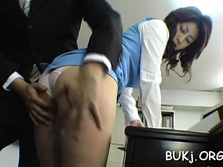 Astonishing take charge eastern beauty Mariko Shiraishi fucked tramp