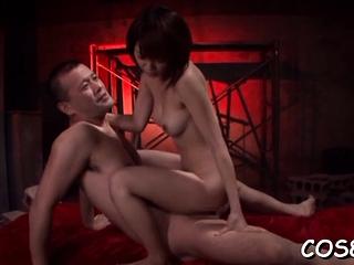 Kinky Mayu Nozomi endures red-letter fuck