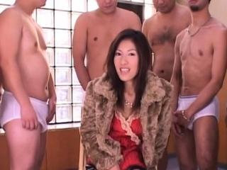 Anorexic japan female practise medicine outstanding team fuck and bukkake