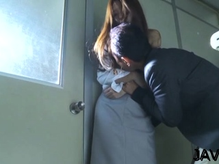 Mischievous eastern Manami Suzuki gets circle caressed generously