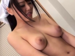 Cute Mao Hamasaki with heavy tits fucks and deepthroats