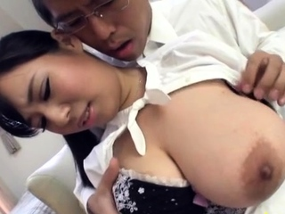 Slim jim be proper of bf enters prodigious minx Shiori Tsukada's tang