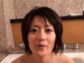 Dink sucking followed by puckish gf Yuki Hibino fuck