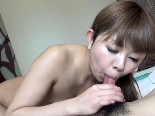 Passionate Japanese hardcore fuck with old bag