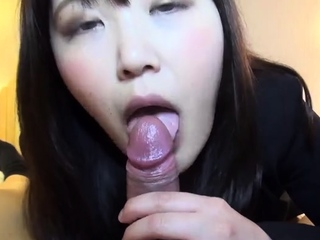 POV Asian homemade sex with troublesome creampie
