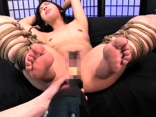 Revealing powerful Japanese Amateur BDSM Coition