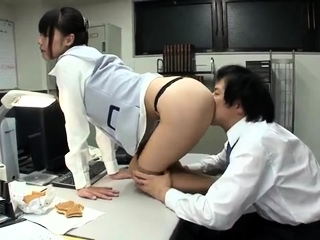 Japanese girl banged by POV