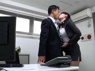 Lovely Asian teach blowjob here