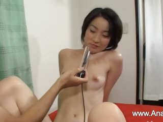 Deep anal sex with puristic japanese woman