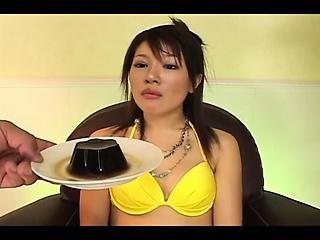 First-rate handjob of superb japanese unladylike